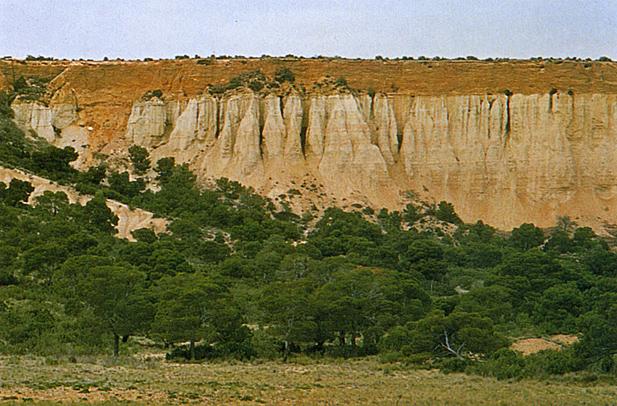 Gran enciclopedia de navarra terraza aluvial o fluvial for Terrazas fluviales
